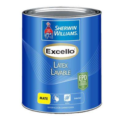 Excello-Latex-Lavable-Mate-Ultra-Blanco-1-Gal---Sherwin-Williams