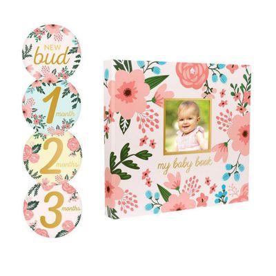Libro-Recuerdos-Con-Stickers-Floral