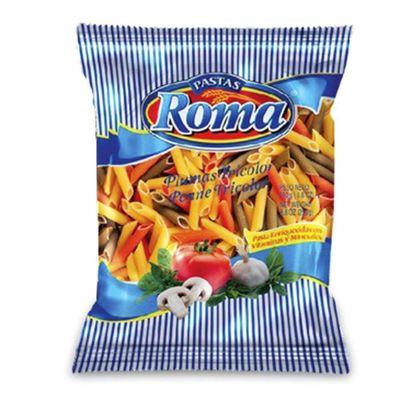 Pasta-Roma-Plumas-Tricolor-Roma-250G---Roma