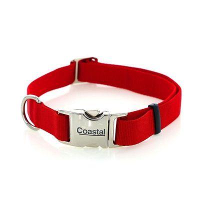 Collar-De-Nylon-65X2.5-Cm-Titan-Rojo