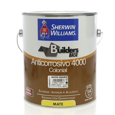 Builders-Base-Anticorrosivo-4000-Colonial-Mate-Negro-1-Gal---Sherwin-Williams
