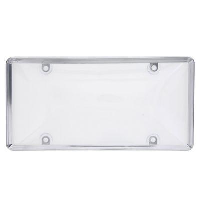 Porta-Placa-Con-Cobertor-Cromo-Clear---Hs