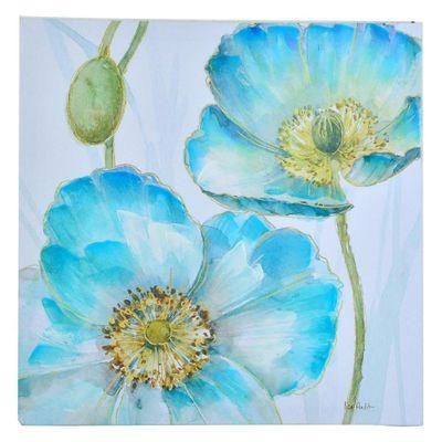 Cuadro-Flores-Azules-60X60X2.5-Cm---Concepts