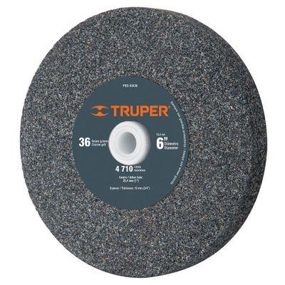Piedra-Para-Esmeril-De-6-Plg-Grano-36---Truper