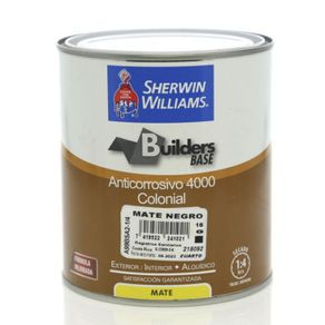 Builders-Base-Anticorrosivo-4000-Colonial-Mate-Negro-1-4-Gal---Sherwin-Williams