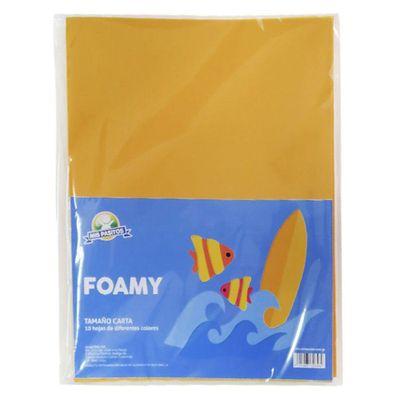 Foamy-Normal-10-Colores-Surtidos---Mis-Pasitos