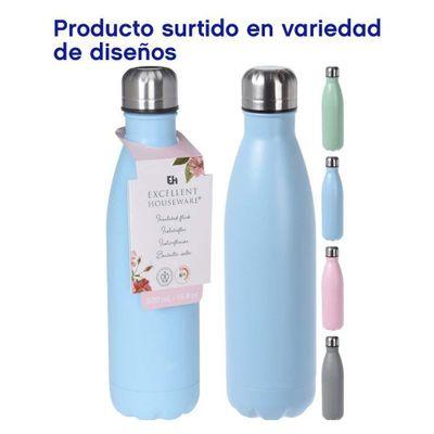 Botella-Para-Agua-De-Aluminio-500-Ml-Colores-Surtidos