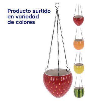 Maceta-Colgante-Para-Flores-Diseño-Frutas-Surtidas