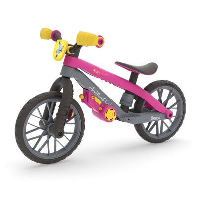 Motobicicleta-De-Balance-Rosa