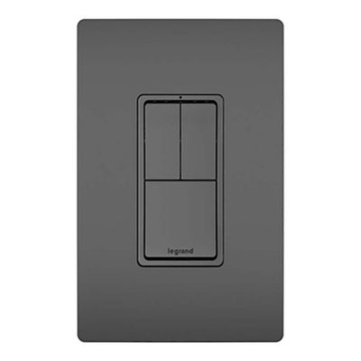 Interruptor-Doble-3-Way-Negro-Radiant---Legrand