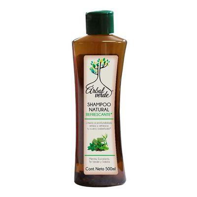 Shampoo-Refrescante-500-Ml---Arbol-Verde