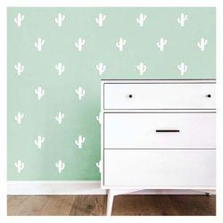 Sticker-Decorativas-White-Cactus