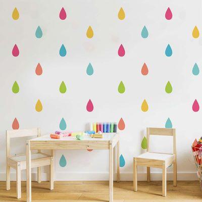 Stickers-Decorativas-Colorfully-Drops