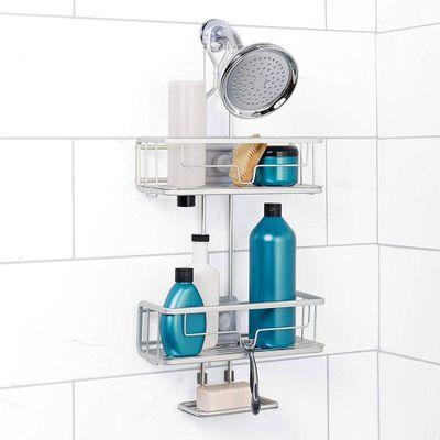 Organizar-De-Ducha-Ajustable-Aluminio---Zenith