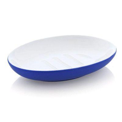 Jabonera-Soft-Touch-Azul---Viva-Fresh