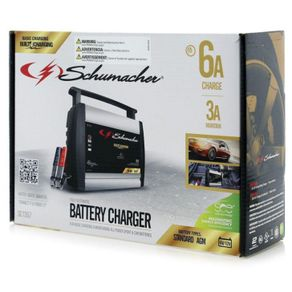 Cargador-6-Amp.-Manual.-Schumacher---Schumacher