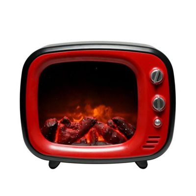 Chimenea-Decorativa-Led-Color-Roja