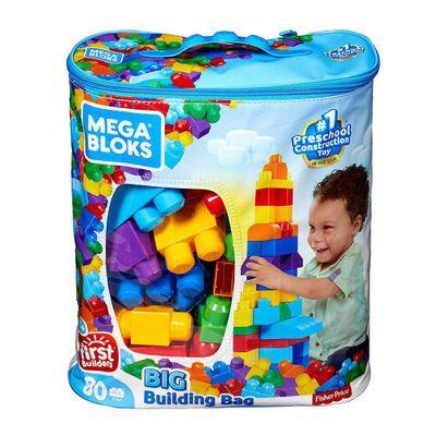 Mega-Block---Bolsa-Azul-Para-Construir-80-Piezas