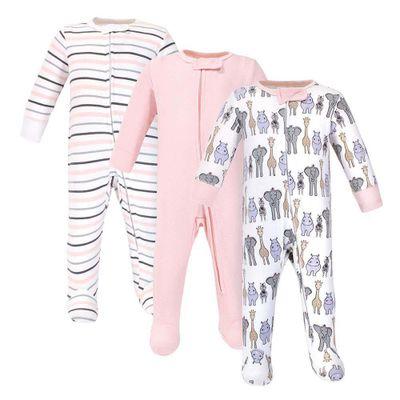 Pijama-Zipper-3Pk-Rosado-Safari6-9M--L-