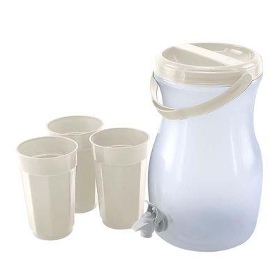 Refresquera-Con-3-Vasos-Marfil---Guateplast