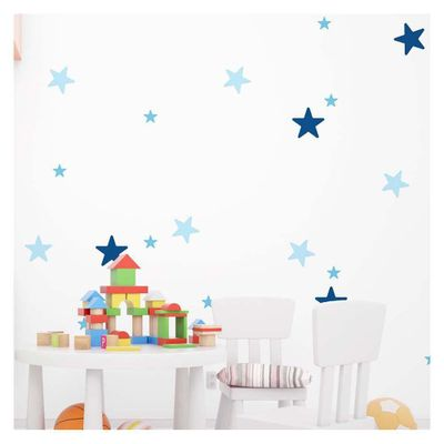 Sticker-Decorativas-Blue-Stars