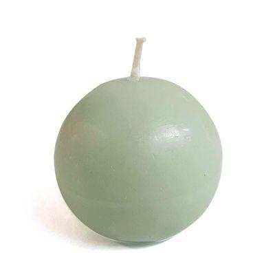 Vela-Tipo-Esfera-No.-2-Verde-Eucalipto---Pilandros
