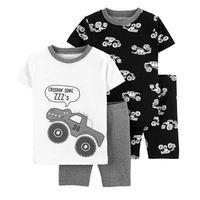 Pijama-4-Pzs-Trucks---Carters-Varias-Tallas