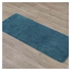 Alfombra-De-Baño-Microfibra-50X120-Cm-Azul---Tendance