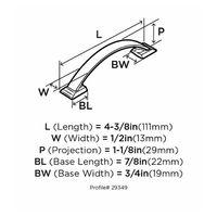 Halador-Amerock-Candler-76-Mm-Bronce