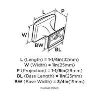 Perilla-Amerock-Candler-32-Mm-Bronce