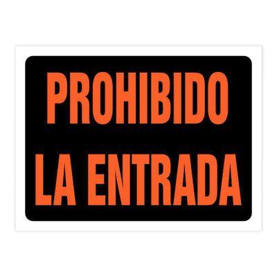 Rotulo-Entrada-Prohibida-Xl-22.9-X-30.5-Cm---Foto-Metal