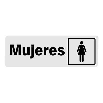 Rotulo-Mujeres-Mediano-7.6-X-22.7-Cm---Foto-Metal