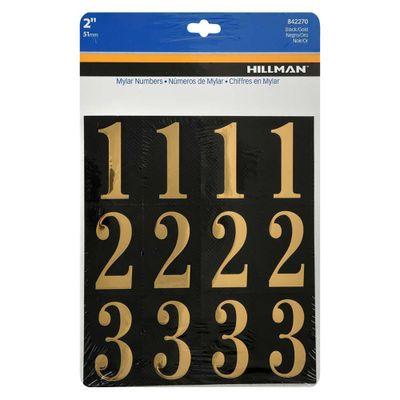 Stickers-Dorado-De-2-Plg-32-Pzs---Hillman