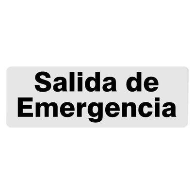 Rotulo-Salida-De-Emergencia-7.6-X-22.7-Cm---Foto-Metal
