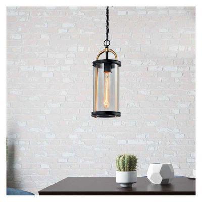 Lampara-Colgante-De-Exterior-Cuadrada-Color-Negro-1Lxe27260W---Zlumini