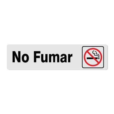 Rotulo-No-Fumar-5.1X20.3-Cm---Foto-Metal