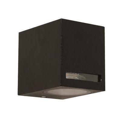 Lampara-De-Exterior-Para-Pared-Negra-1-Luz-Gu10-5W---Designers-Outdoor-Lighting