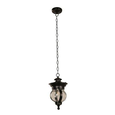 Lampara-De-Exterior-Para-Techo-Negra-1-Luz-E27-40W---Designers-Outdoor-Lighting