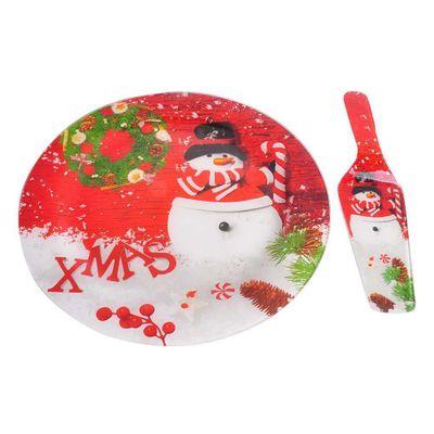 Set-Pastelero-Con-Espatula-Snowman---Toscana-Navidad