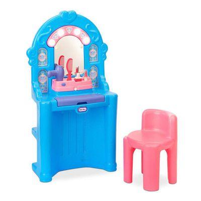 Set-De-Belleza-Ice-Princess-Magic-Mirror---Little-Tikes