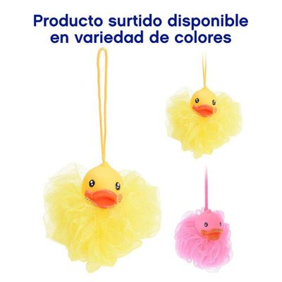 Esponja-Para-Baño-Pato-Colores-Surtidos---Koopman