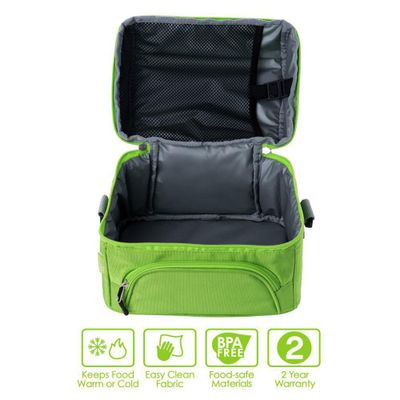 Lonchera-Con-Zipper-Verde---Bentgo