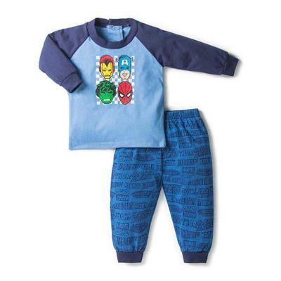 Pijama-Super-Heroes-2-Pzs---St-Jacks-Varias-Tallas