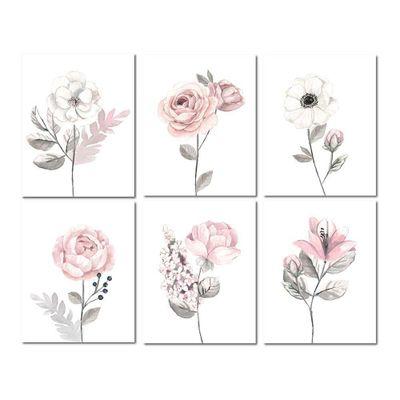 Cuadros-Decorativos-Flores-Acuarela---Lambs-Ivy