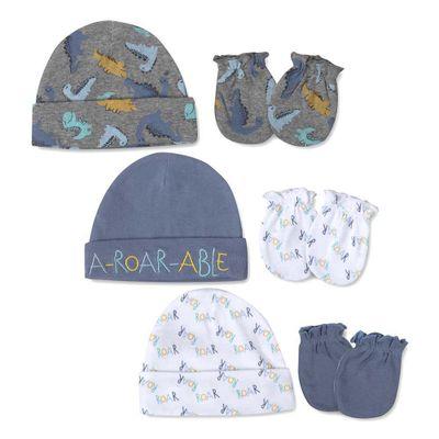 Set-Gorros-Y-Guantes-Dino-Adorable---Baby-Essentials