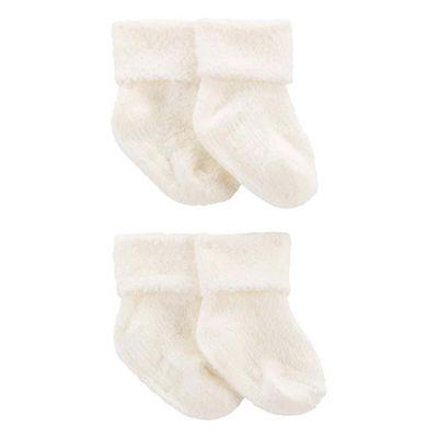 Calcetas-Blancas-Recien-Nacido---Carters