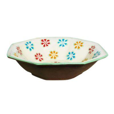 Tazon-Multiusos-De-Ceramica-Diseño-Flores-Verdes---Casa-De-Los-Gigantes