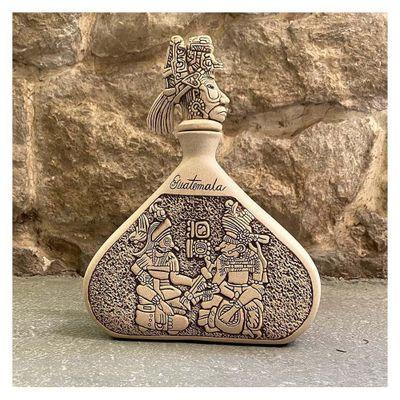 Florero-De-Piedra-Ceramica-Diseño-Cocom-Hunac---Ceramica-Mundo-Maya