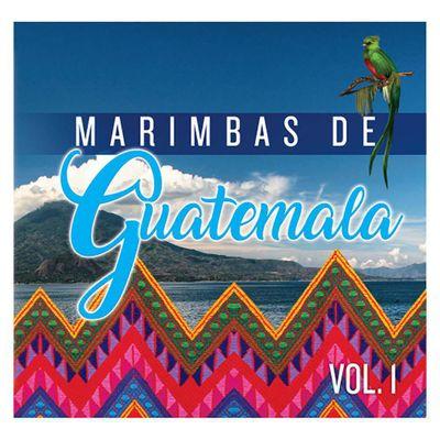 Disco-Compacto-Marimbas-De-Guatemala-Vol.1-90115-2---Jaguar-Record