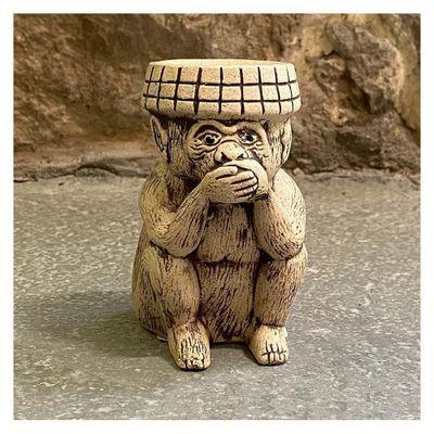 Figura-De-Piedra-Ceramicas-Diseño-Mono-Sabio-Callar---Ceramicas-Mundo-Maya